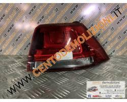 Stop fanale posteriore Destro Passeggero VOLKSWAGEN Golf 7 Berlina