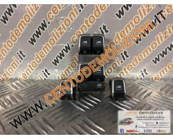 8K0959851F PULSANTIERA ANTERIORE SINISTRA GUIDA AUDI A4 Berlina 5° Serie 2000 Diesel   Km...
