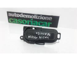 Maniglia interna Posteriore Sinistra NISSAN Micra 3° Serie