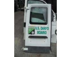 PORTA CARICO POSTERIORE A BATTENTE SX LATO GUIDA VETRATA IVECO Daily 3° Serie Diesel  (2003) RICAMBI USATI
