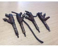 0445110076  9641742880 KIT INIETTORI FIAT Scudo 2° Serie Diesel  RICAMBI USATI