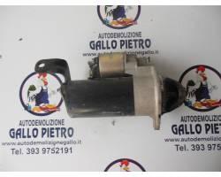 MOTORINO D' AVVIAMENTO OPEL Zafira A 2000 Diesel  (2003) RICAMBI USATI