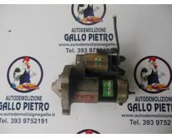 28721510010 MOTORINO D' AVVIAMENTO TATA Indica 1°  Serie 1400 Benzina  (2005) RICAMBI USATI