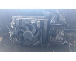KIT RADIATORI OPEL Zafira B 1900 Diesel Z19DT  Km 88 Kw  (2007) RICAMBIO USATO