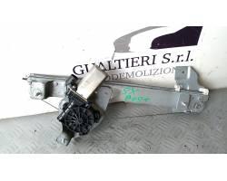Meccanismo alza vetro Post. SX DACIA Duster 1° Serie