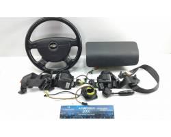 Kit Airbag Completo CHEVROLET Kalos 1° Serie