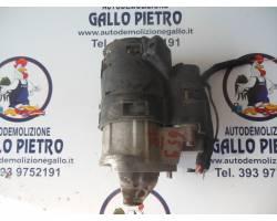 MOTORINO D' AVVIAMENTO RENAULT Modus 2° Serie 1500 Diesel   Km  (2007) RICAMBIO USATO