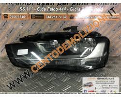 Faro anteriore Sinistro Guida AUDI A4 Berlina 5° Serie