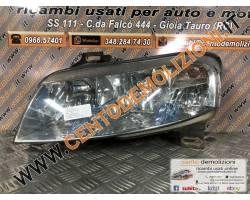 517127160 FARO ANTERIORE SINISTRO GUIDA FIAT Stilo Berlina 5P 1900 Diesel   Km  (2004) RIC...