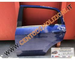PORTIERA POSTERIORE SINISTRA FIAT Punto EVO 1300 Diesel   Km  (2010) RICAMBIO USATO