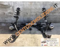 Meccanica anteriore completa FIAT 500 1° Serie