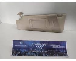 PARASOLE ALETTA ANTERIORE LATO GUIDA LANCIA Musa 1° Serie Benzina  (2005) RICAMBI USATI