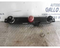Pulsante luci di emergenza FIAT 500 1° Serie