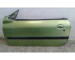 PORTIERA ANTERIORE SINISTRA PEUGEOT 206 Cabrio 2° Serie 1600 Benzina   Km  (2005) RICAMBI...