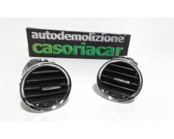 Bocchette Aria Cruscotto FIAT 500 Cabrio