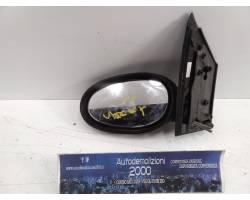 SPECCHIETTO RETROVISORE SINISTRO SMART For Two Cabrio 1° Serie Benzina  (2000) RICAMBI USATI