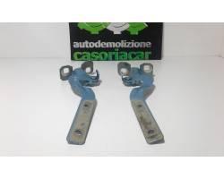 Cerniere cofano anteriore dx e sx FIAT Panda 2° Serie