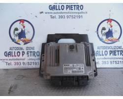 0281012980 CENTRALINA MOTORE CITROEN C4 Picasso 1° Serie 1600 Diesel   Km  (2007) RICAMBI...