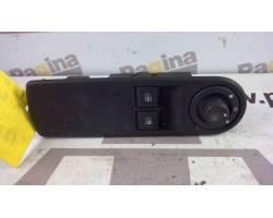 80961 1667R - 1135204X PULSANTIERA ANTERIORE SINISTRA GUIDA RENAULT Clio Serie Benzina  (2013) RICAMBI USATI