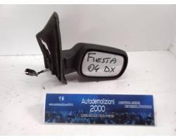 SPECCHIETTO RETROVISORE DESTRO FORD Fiesta 4° Serie Benzina  (2004) RICAMBI USATI