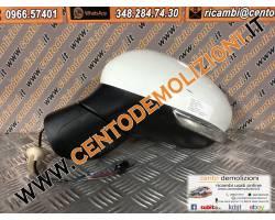 735603612 SPECCHIETTO RETROVISORE SINISTRO FIAT 500 X 1° Serie 1600 Diesel  (2016) RICAMBI USATI