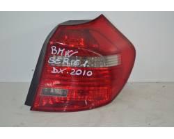 Stop fanale posteriore Destro Passeggero BMW Serie 1 E87 2° Serie