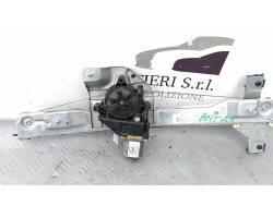 Meccanismo alza vetro Ant. DX PEUGEOT 208 1° Serie