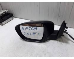 SPECCHIETTO RETROVISORE SINISTRO NISSAN Qashqai Serie 1500 Diesel   Km  (2015) RICAMBIO US...