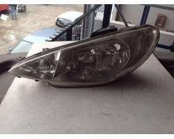 Faro anteriore Sinistro Guida PEUGEOT 206 2° Serie
