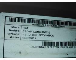 Cremagliera anteriore sinistra Guida FIAT Croma 1° Serie