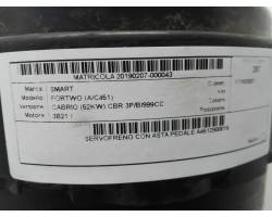 Servofreno SMART ForTwo Cabrio 3° Serie (w 451)