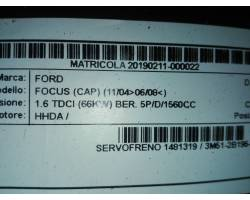 Servofreno FORD Focus Berlina 3° Serie