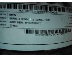 Servofreno BMW Serie 3 E90 Berlina 2° Serie