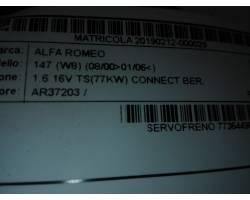 Servofreno ALFA ROMEO 147 1°  Serie
