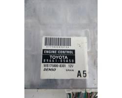 Centralina motore TOYOTA Corolla Berlina 3° Serie 3-5P