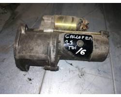 Motorino d' avviamento HYUNDAI Galloper 1° Serie