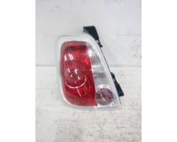 27040181  /  51885550 STOP FANALE POSTERIORE DESTRO PASSEGGERO FIAT 500 Cabrio Diesel  (2010) RICAMBI USATI