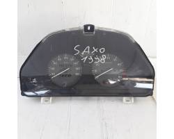 9627933380 QUADRO STRUMENTI CITROEN Saxo 1° Serie 1100 Benzina  (1998) RICAMBI USATI