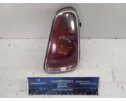 219042 STOP FANALE POSTERIORE DESTRO PASSEGGERO MINI One 1° Serie Benzina  (2005) RICAMBI USATI