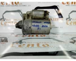 Motorino d' avviamento CHEVROLET Spark 1° Serie