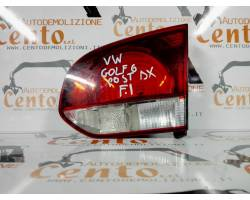 Stop Posteriore Destro Integrato nel Portello VOLKSWAGEN Golf 6 Berlina