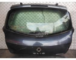 PORTELLONE POSTERIORE COMPLETO RENAULT Clio Serie (04>08) 1500 Diesel   Km  (2006) RICAMBI...