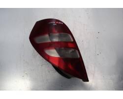 STOP FANALE POSTERIORE SINISTRO LATO GUIDA MERCEDES Classe A W169 3° Serie 2000 Diesel  (2008) RICAMBI USATI
