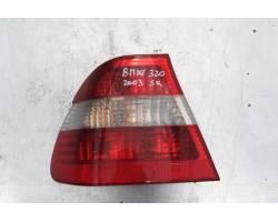 STOP FANALE POSTERIORE SINISTRO LATO GUIDA BMW Serie 3 E46 Berlina 2° Serie 1900 Diesel  (2003) RICAMBI USATI