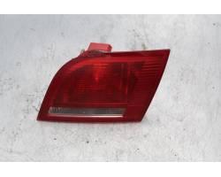 STOP POSTERIORE DESTRO INTEGRATO NEL PORTELLO AUDI A3 Sportback (8P) 1900 Diesel  (2005) RICAMBI USATI