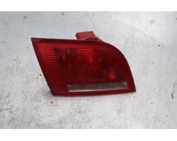 STOP POSTERIORE SINISTRO INTEGRATO NEL PORTELLO AUDI A3 Sportback (8P) 1900 Diesel  (2005) RICAMBI USATI