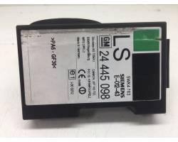 Blocchetto accensione elettrico OPEL Corsa C 5P 2° Serie