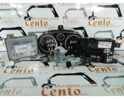Kit Centralina Motore OPEL Corsa D 5P 2° Serie
