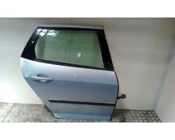 PORTIERA POSTERIORE DESTRA PEUGEOT 407 S. Wagon 1600 Diesel  (2004) RICAMBI USATI