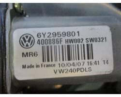 Alzacristallo elettrico ant. DX passeggero VOLKSWAGEN Polo 4° Serie